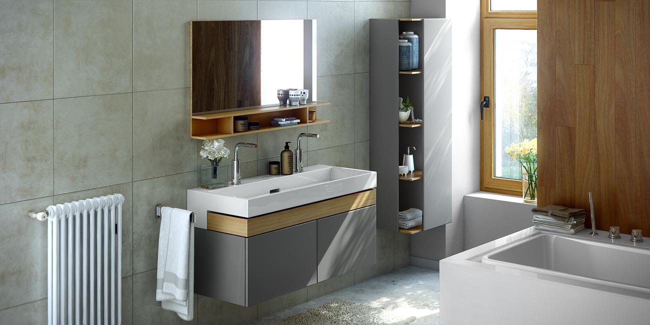 Soluciones para muebles de ba o indaux for Herrajes para muebles de bano