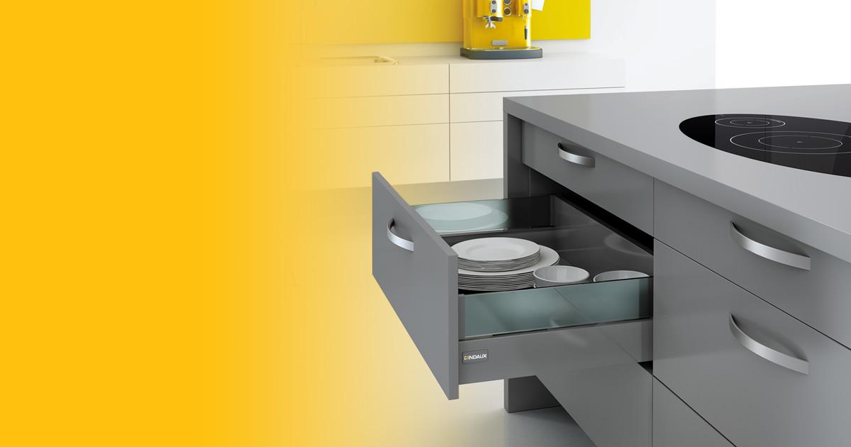 Herrajes para muebles indaux for Herrajes para muebles de cocina